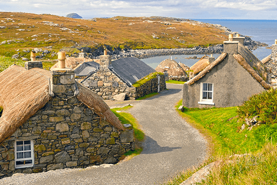 Gearrannan Blackhouse Village