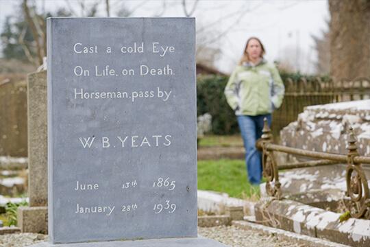 W.B. Yeats Grave